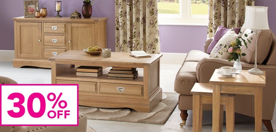 Revival Oak Living Room Furniture Collection