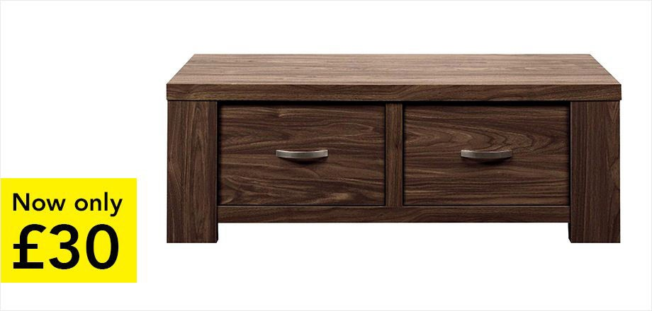 York Walnut Coffee Table | Now only £30
