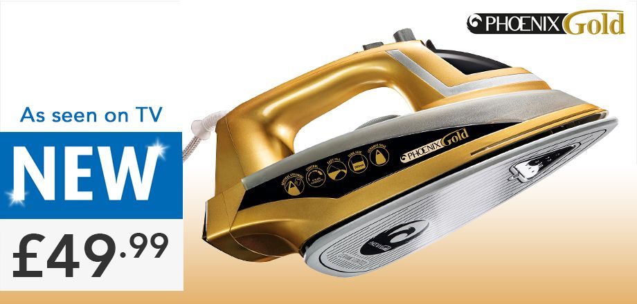 New JML Phoenix Steam Iron