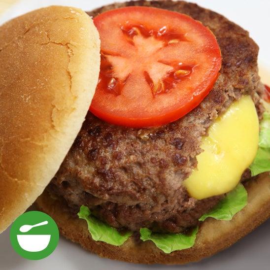 Cheese Stuffed Burger Recipe