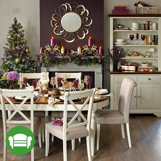 Setting your Christmas table