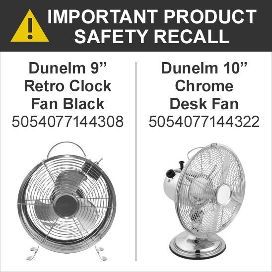 Important Product Recall