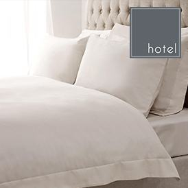 White Hotel Oxford Duvet Cover