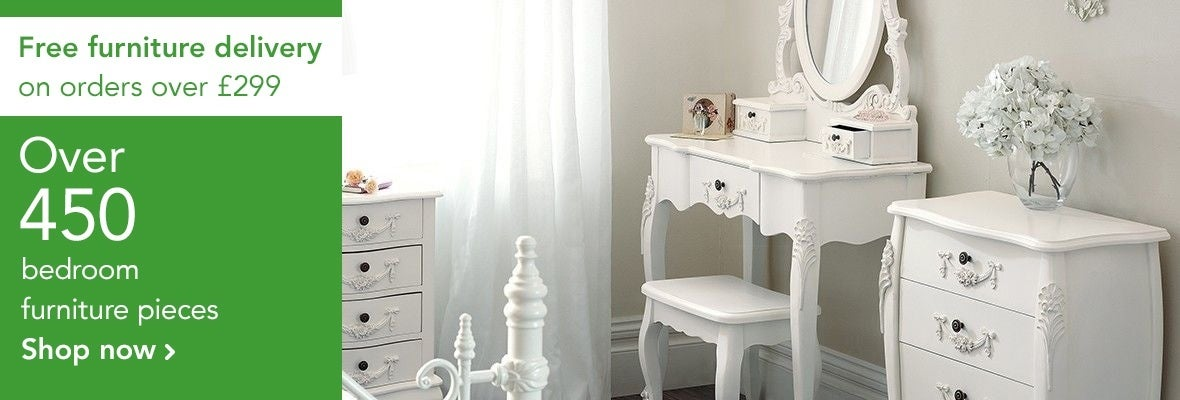 Free delivery on furniture orders over £299