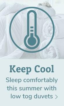 Keep Cool Low Tog Duvets