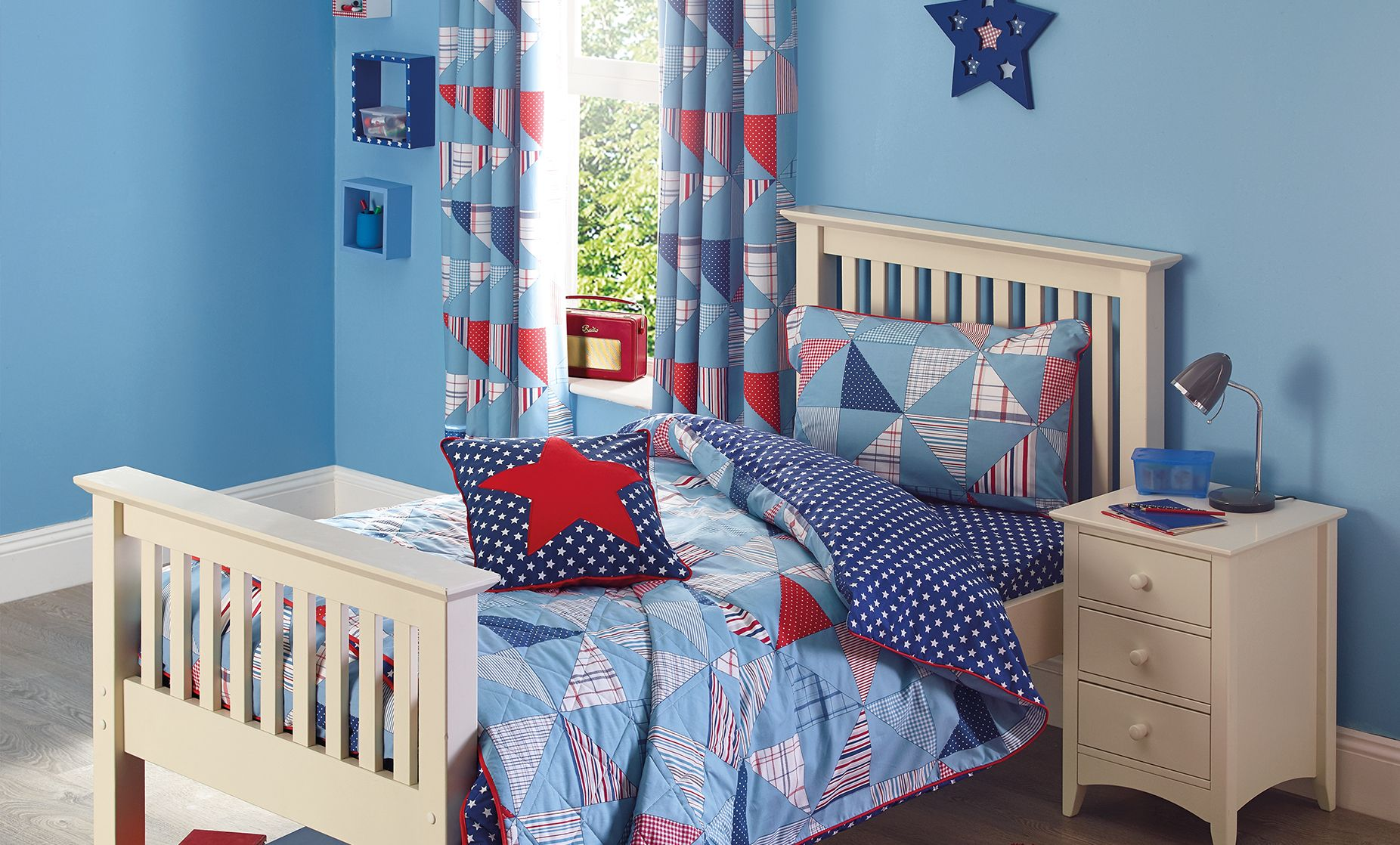 Cook Patchwork Children\'s Bedroom | Dunelm