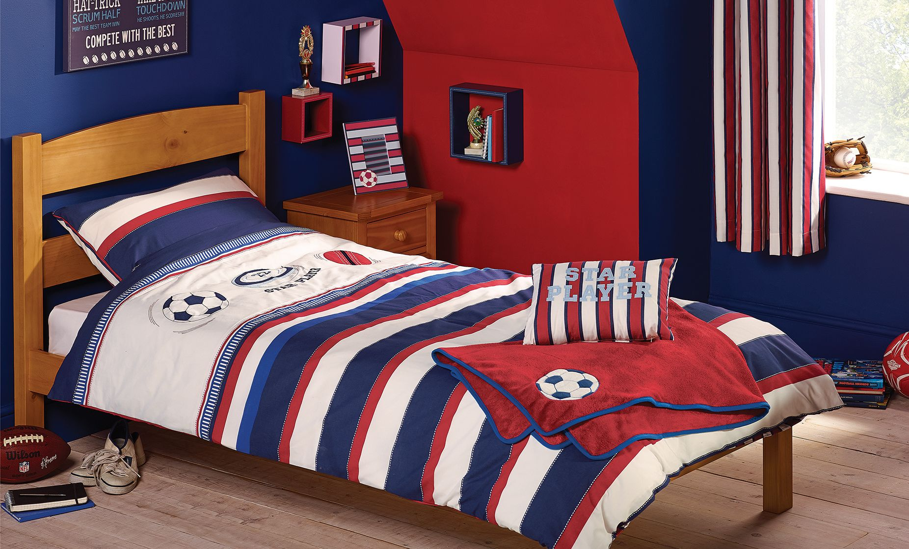Varsity Sports Childrens Bedroom