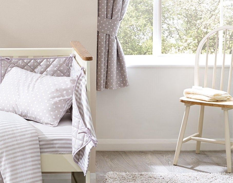 Neutral Nursery Curtains