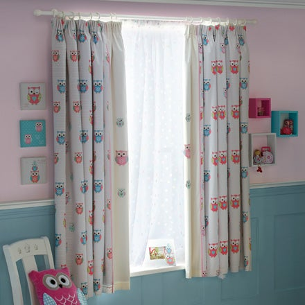 Shop for nursery dunelm for Drapes over crib