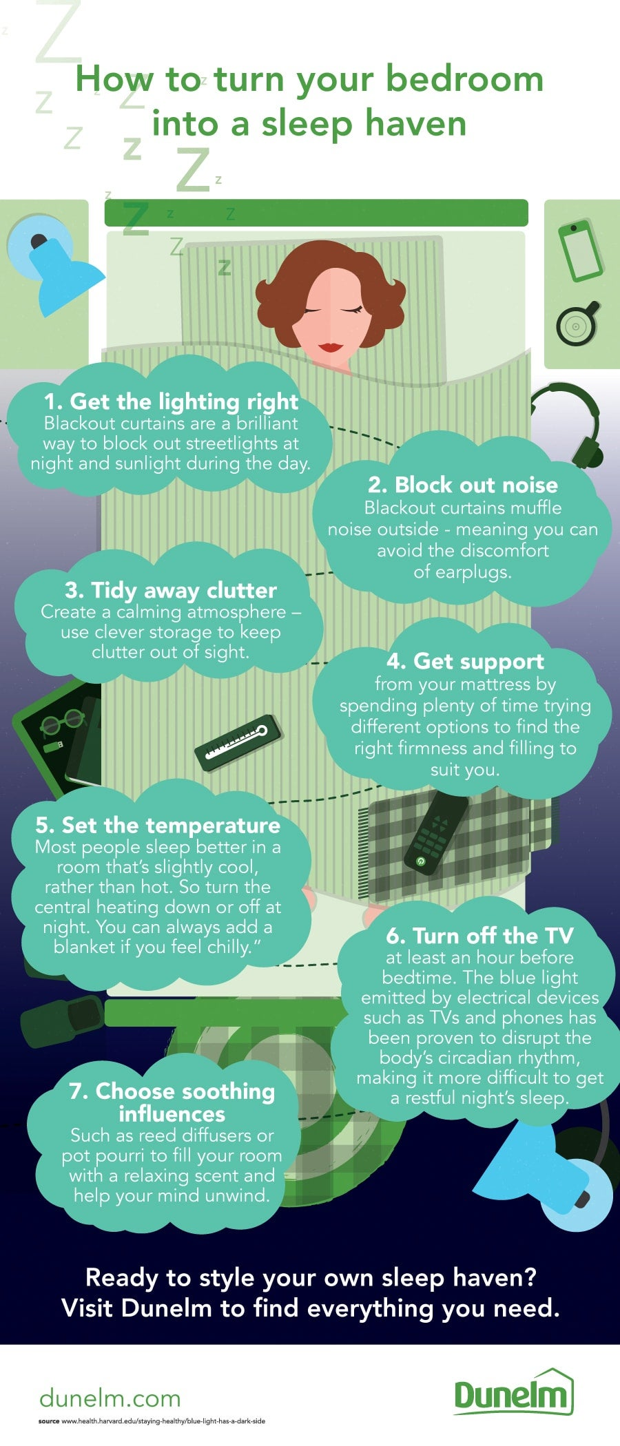 How to turn your bedroom into a sleep haven