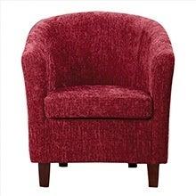 Maurice Chenille Tub Chair