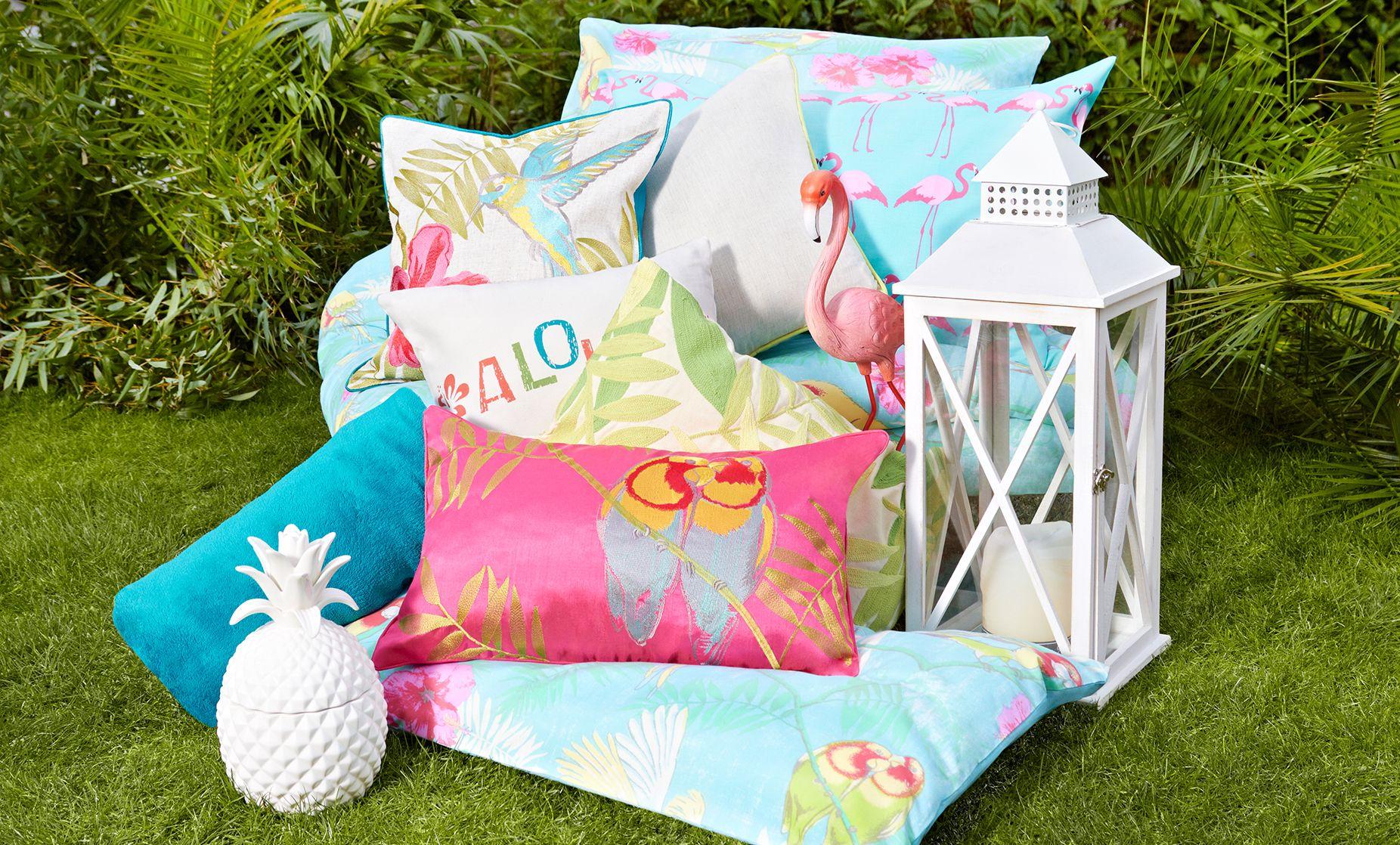 Tropical Kitsch Garden Dunelm