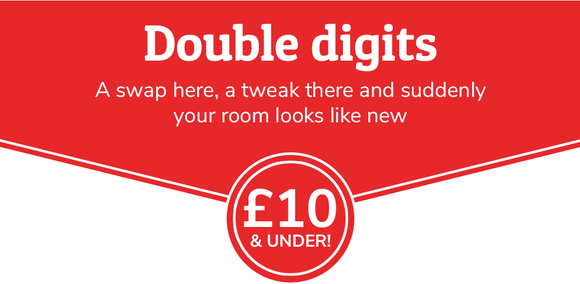 Double digits 0 £10 & under