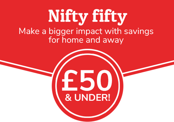 Nifty fifty - £50 & under