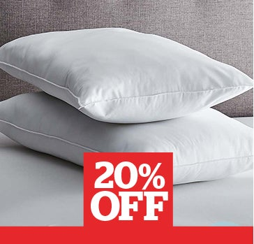 Fogarty Superfull Medium-Support Pillow Pair